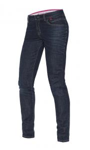 DAINESE BELLEVILLE Jeans Moto Donna - Blu Scuro