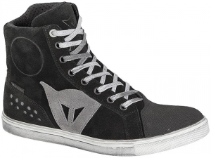 DAINESE STREET BIKER D-WP Woman Shoes - Black and Anthracite Grey