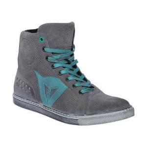DAINESE STREET BIKER AIR Woman Shoes - Grey and Aquamarine