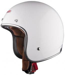 LS2 BOBBER OF583 Jet Helmet - White