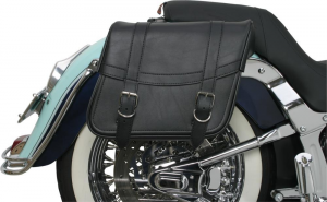 Coppia borse laterali pelle custom Saddlemen 35010088 Highwayman classic medium