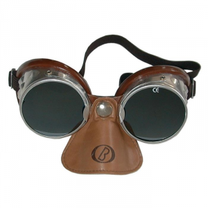 BARUFFALDI 101 SAR Motorcycle Goggles - Brown