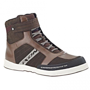 IXON SLACK WP Man Shoes - Brown and White