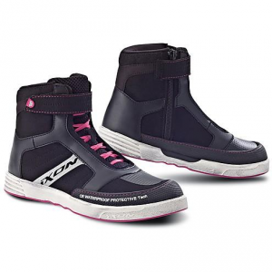 IXON SLACK LADY Woman Shoes - Black and Fuxia