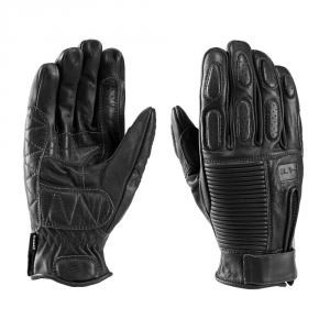 BLAUER BANNER Motorcycle Gloves - Black
