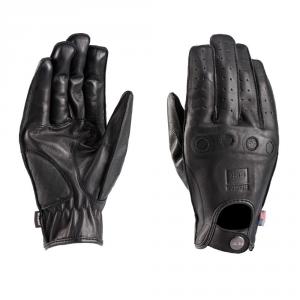 BLAUER ROUTINE Motorcycle Gloves - Black