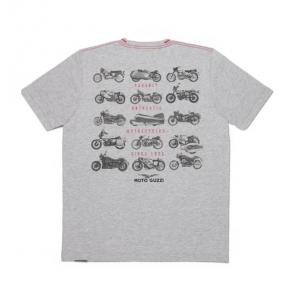 T-shirt Moto Guzzi Garage grigio