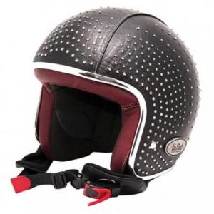 BARUFFALDI ZEON VINTAGE SWAROVSKI Jet Helmet - Black