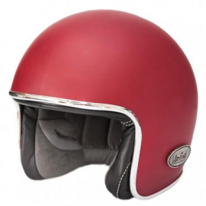 BARUFFALDI ZAR VINTAGE Jet Helmet - Imperial Red