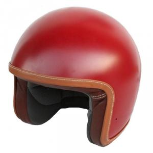 BARUFFALDI ZAR VINTAGE SHINNY Jet Helmet - Red