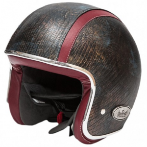 BARUFFALDI ZEON VINTAGE RAMSETE Jet Helmet - Brown