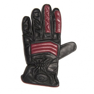 BARUFFALDI GUIA SPRING ARMONIE Motorcycle Gloves - Black and Red