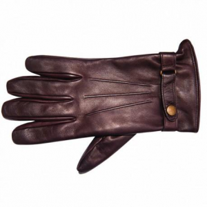 BARUFFALDI GUIA COPERLAINE Motorcycle Gloves - Chocolate Brown