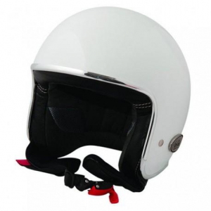 BARUFFALDI ZAR VINTAGE Jet Helmet - White and Black