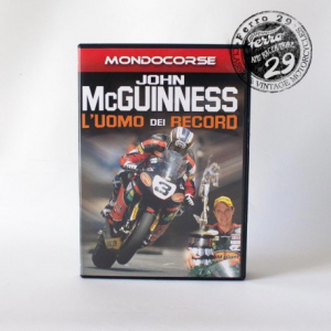 MONDOCORSE John McGuinness - L'uomo dei Record - Video DVD