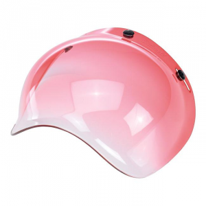 BILTWELL BUBBLE RED GRADIENT Visiera Casco - Rosso