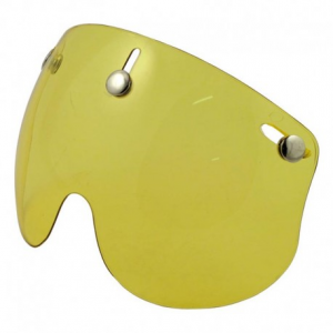 BANDIT SHORT Helmet Visor - Yellow