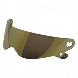 BANDIT XXR - SUPER STREET - CRYSTAL Helmet Visor - Gold Mirror