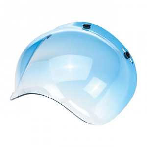BILTWELL BUBBLE BLUE GRADIENT Visiera Casco - Blu
