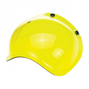 BILTWELL BUBBLE YELLOW SOLID Visiera Casco - Giallo