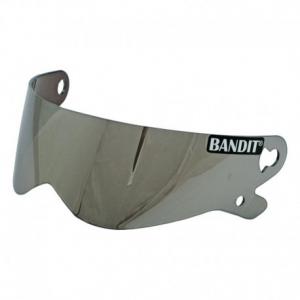 BANDIT XXR - SUPER STREET - CRYSTAL Helmet Visor - Silver Mirror
