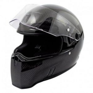 BANDIT ALIEN II CARBON Full Face Helmet - Carbon Black