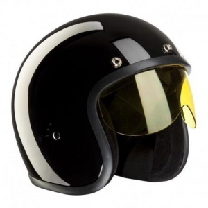 BANDIT STICK-ON Helmet Visor - Yellow