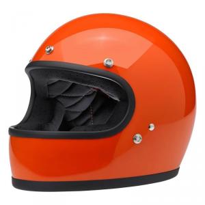 BILTWELL GRINGO HAZARD - Casco Integrale - Arancione Lucido