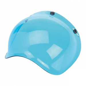 BILTWELL BUBBLE BLUE SOLID Visiera Casco - Blu