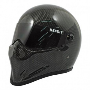 BANDIT CRYSTAL CARBON Casco Integrale - Nero Carbonio