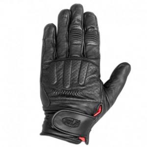 ROLAND SANDS DESIGN Barfly Motorcycle Gloves - Black