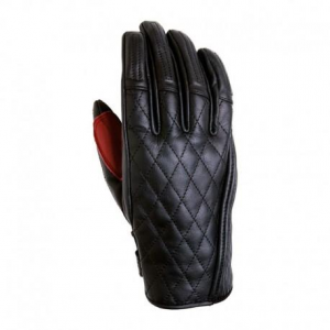 ROLAND SANDS DESIGN Riot Woman Motorcycle Gloves - Black