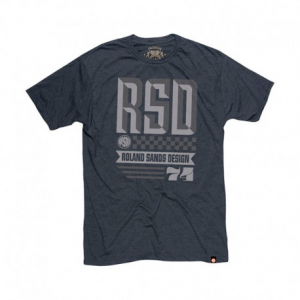 ROLAND SANDS DESIGN Overload Man T-Shirt - Dark Grey
