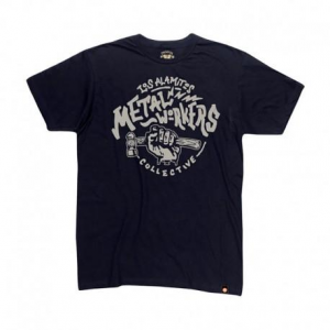 ROLAND SANDS DESIGN Metal Workers T-Shirt Uomo - Nero