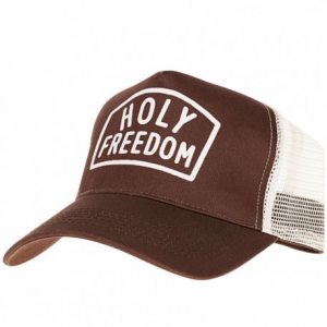HOLY FREEDOM Arney Brown Trucker Hat - Brown