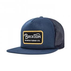 BRIXTON GRADE MESH Cappellino - Blu Navy