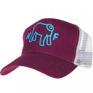 HOLY FREEDOM Mud Trucker Hat - Bordeaux
