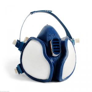 Mascherina Professionale per Vapori Organici e Polveri 3M.