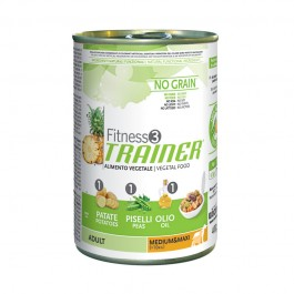 Fitness 3 Adult Medium/Maxi Vegetal Umido 400 g