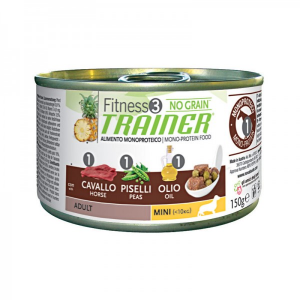 Fitness 3 Adult Mini Cavallo umido 150 g