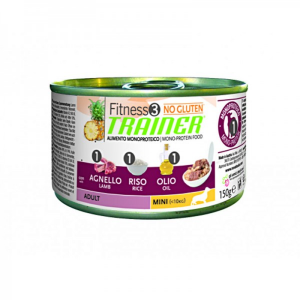 Fitness 3 Adult Mini Agnello umido 150 g
