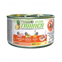 Fitness 3 Adult Mini Coniglio umido 150 g