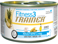 Fitness 3 Adult Mini Pesce Umido 150 g
