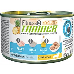 Fitness 3 Puppy Small Pesce umido 150 g