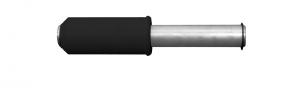 PERNO PMM-01 (42 mm) CAVALLETTO MOTO POSTERIORE MONOBRACCIO BIKE LIFT RS-16 E RS-16/R PER MV AGUSTA, DUCATI 1098, DUCATI STREETFIGHTER, DUCATI 1198