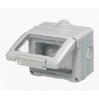 Contenitore stagno IP55 4 posti grigio System Gewiss GW27044