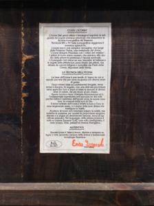 Icona bulgara dipinta Deus Abba Omnipotens Pater 25 x 32 cm