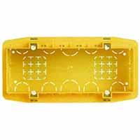 BTicino 506L scatola da incasso per 6/7 moduli