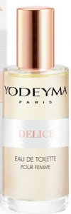 Yodeyma DELICE Eau de Toilette 15ml mini Profumo Donna no tappo no scatola