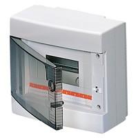 Gewiss GW40043 - Centralino da Parete 8 moduli porta trasparente IP40